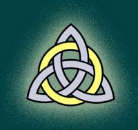 Wanderer of the Mysts' Triquetra logo